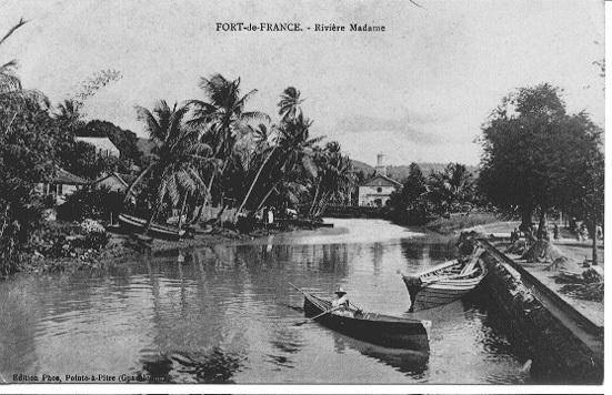 Fort de France - Fort de France martinique, La rivière Madame