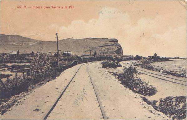 Arica - Líneas para Tacna y La Paz.