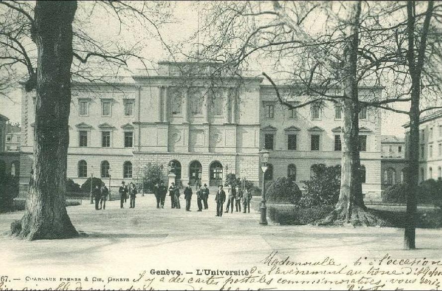 Genève - Genève - l'Université + 1902