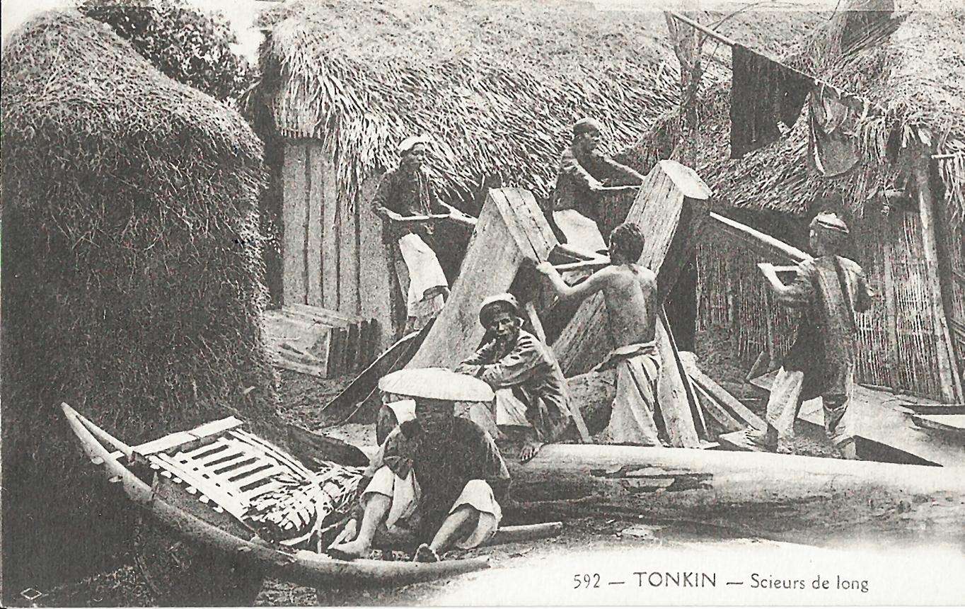 -  Tonkin-Scieurs de long