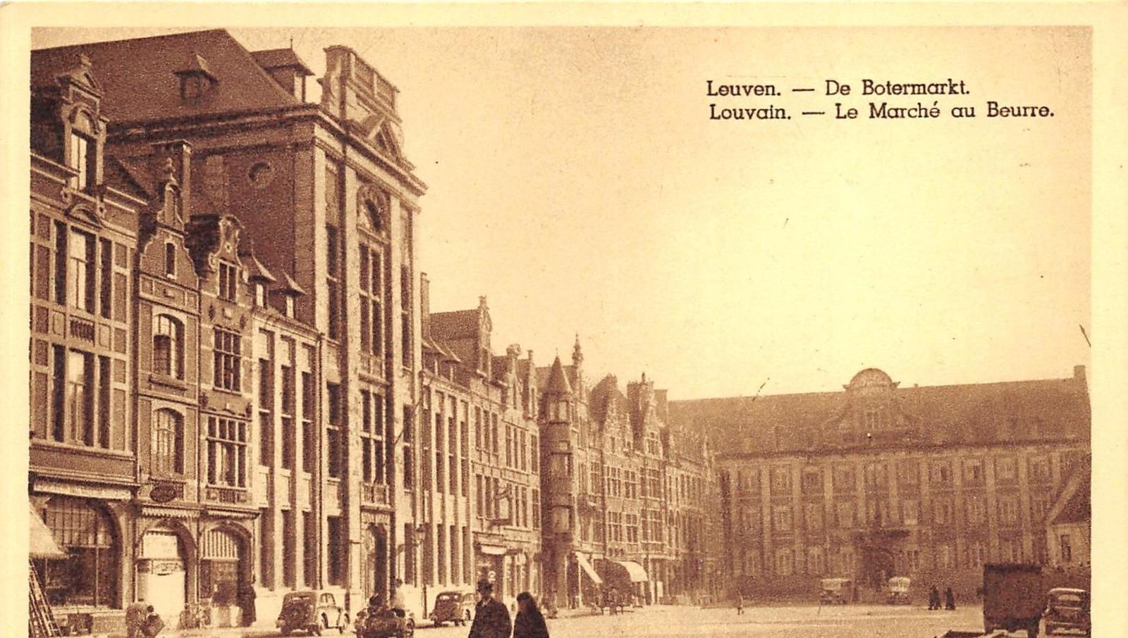 Louvain - Louvain - Le Marché au Beurre