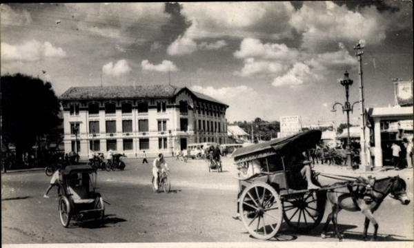 Hô Chi Minh-Ville - Cp Saigon Cochinchine Vietnam, Rikscha