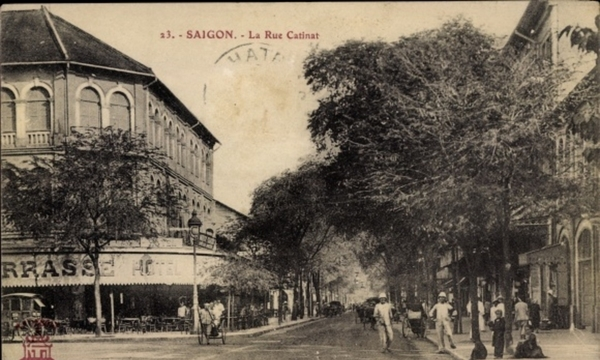 Hô Chi Minh-Ville - Cp Saigon Cochinchine Vietnam, La Rue Catinat