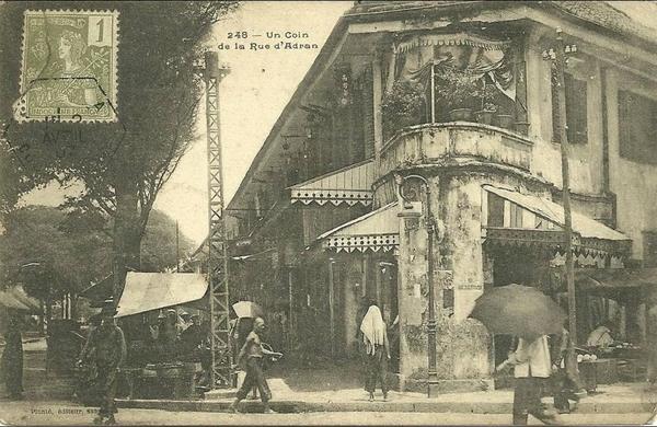 Ho-Chi-Minh - SAIGON  N 248  UN COIN RUE D ADRAN  PERSONNAGES
