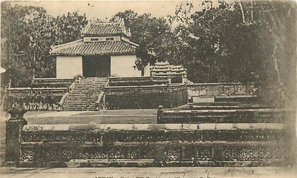 Hué - 981- viet-nam - vietnam - annam - hué - tombeau de l empereur tu duc -