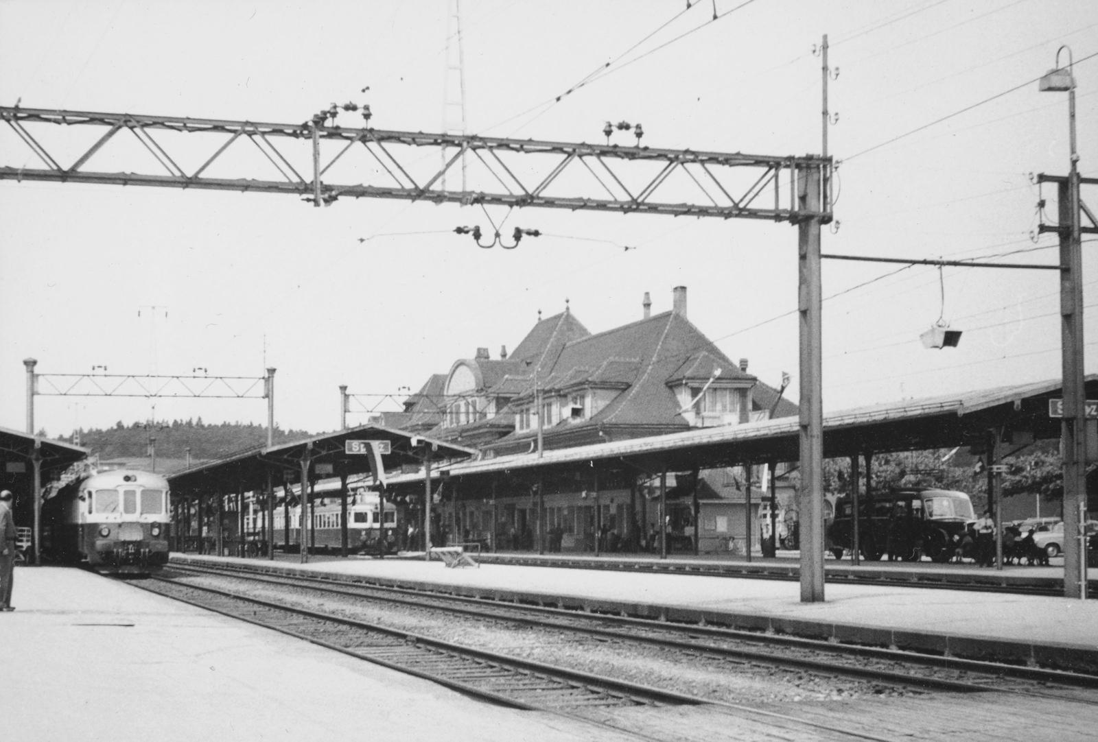 Spiez - Gare/Bahnhof Spiez