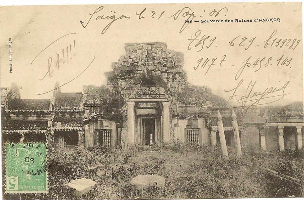 -  Viet-nam  -Souvenir des ruines d´Angkor -  numero 149 éditeur plante -