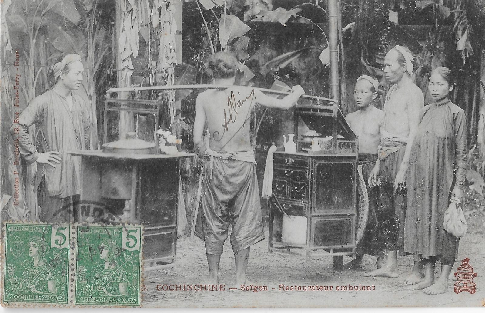 Saigon -  Restaurateur ambulant