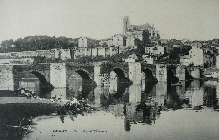 Limoges -  Pont Saint-Etienne