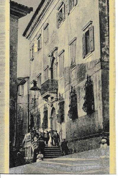 Izola - Cartolina di Isola d'Istria - Palazzo Besenghi