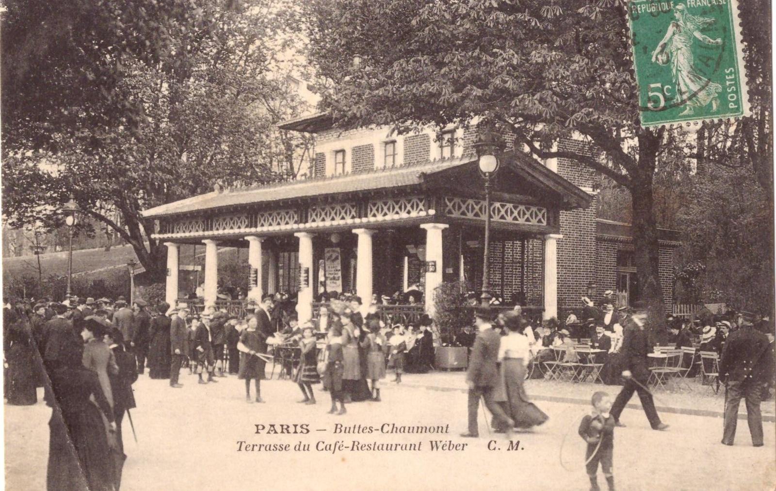 Paris - Café Weber