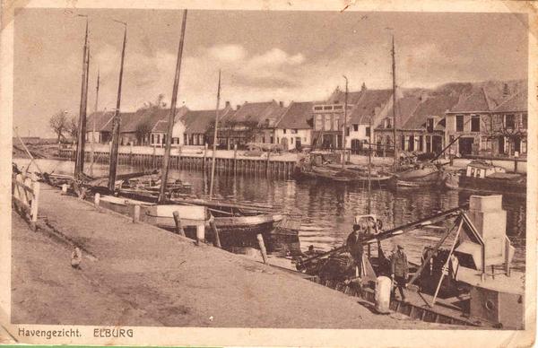 Elburg - Havengezicht, 1931