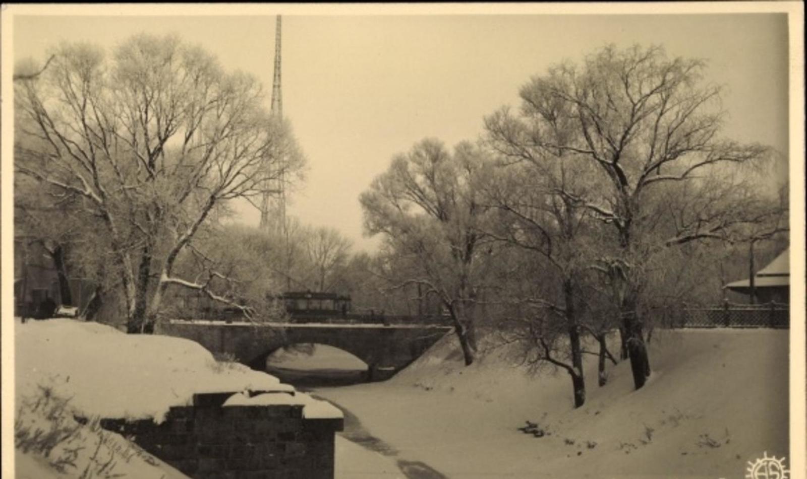 Riga -  Cp Riga Lettland, Ziema, Winterpartie, Straßenbahn Linie 3