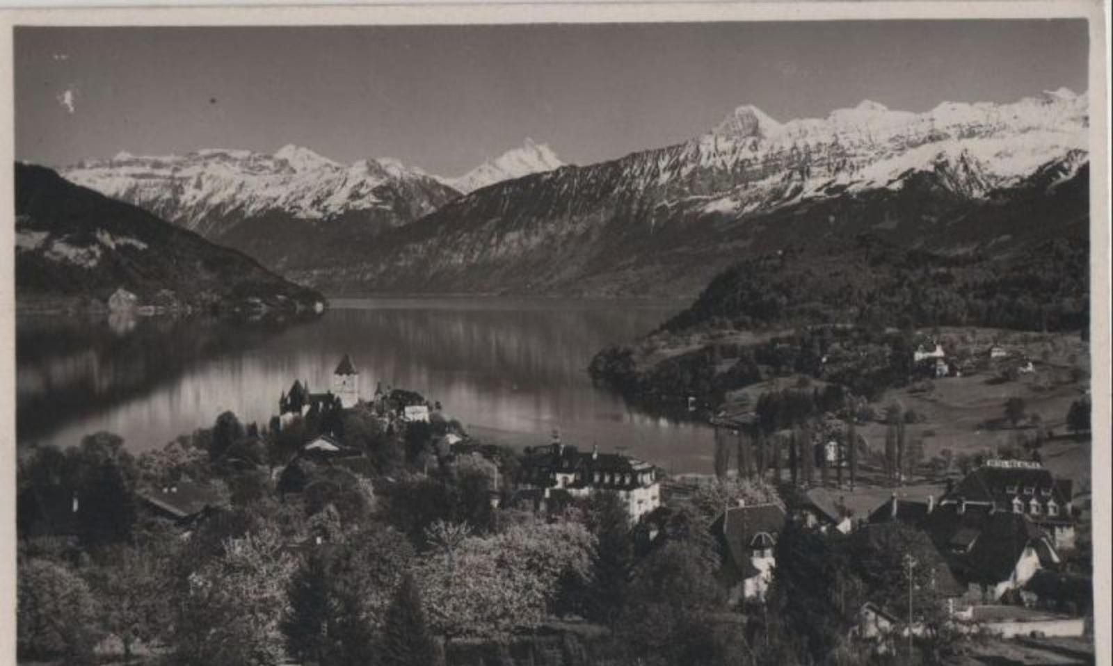 Spiez - Schweiz - Spiez - mit Thunersee - 1935