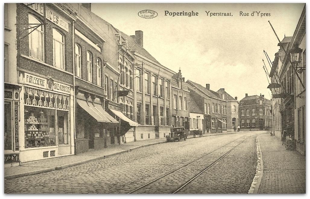 """Poperinge -  Poperinge """" Huis Maes-Rommens """""""
