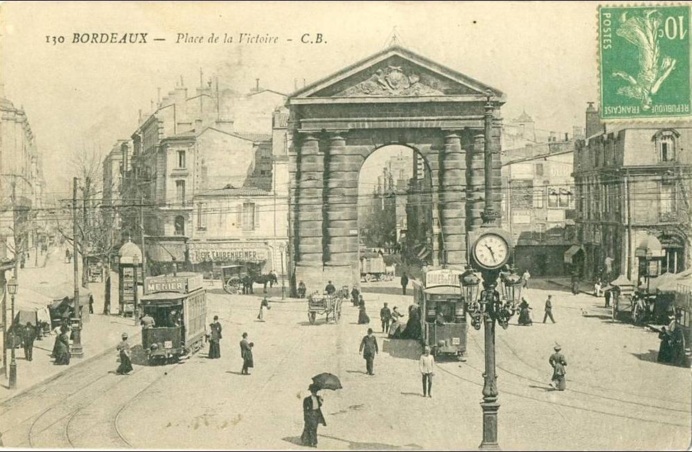 Bordeaux - Bordeaux-Place de la Victoire-