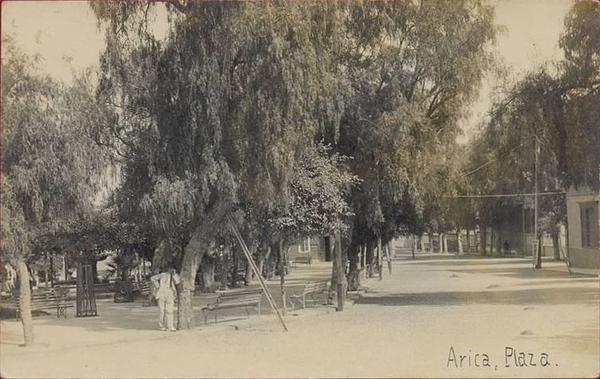 Arica - Plaza.