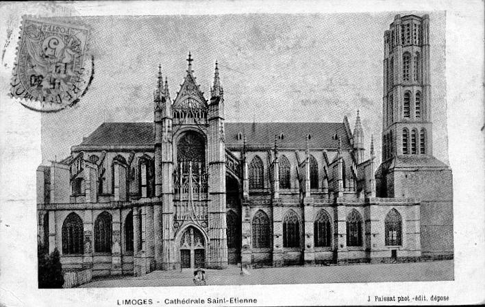 Limoges -  LA CATHEDRALE DE LIMOGES