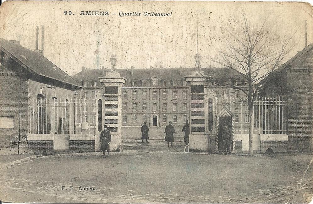 Amiens Amiens Quartier Gribeauval Cachet Tresor Et