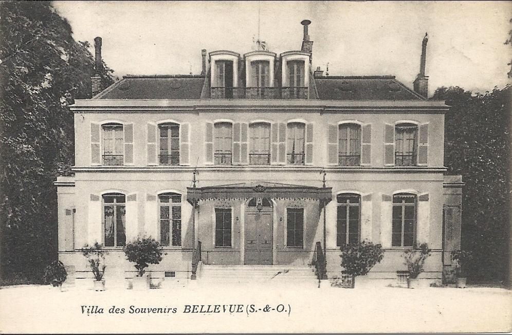 Meudon - Villa des Souvenirs - BELLEVUE (S. & O.)
