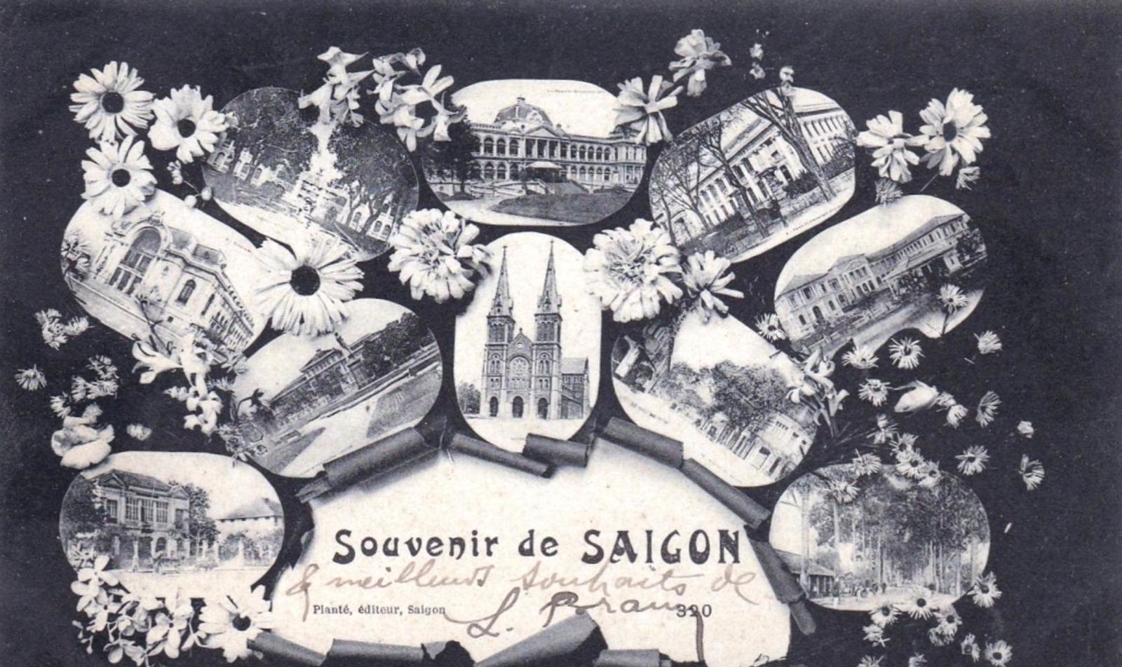 Hô-Chi-Minh-Ville -  Viet Nam - souvenir de SAIGON 1906