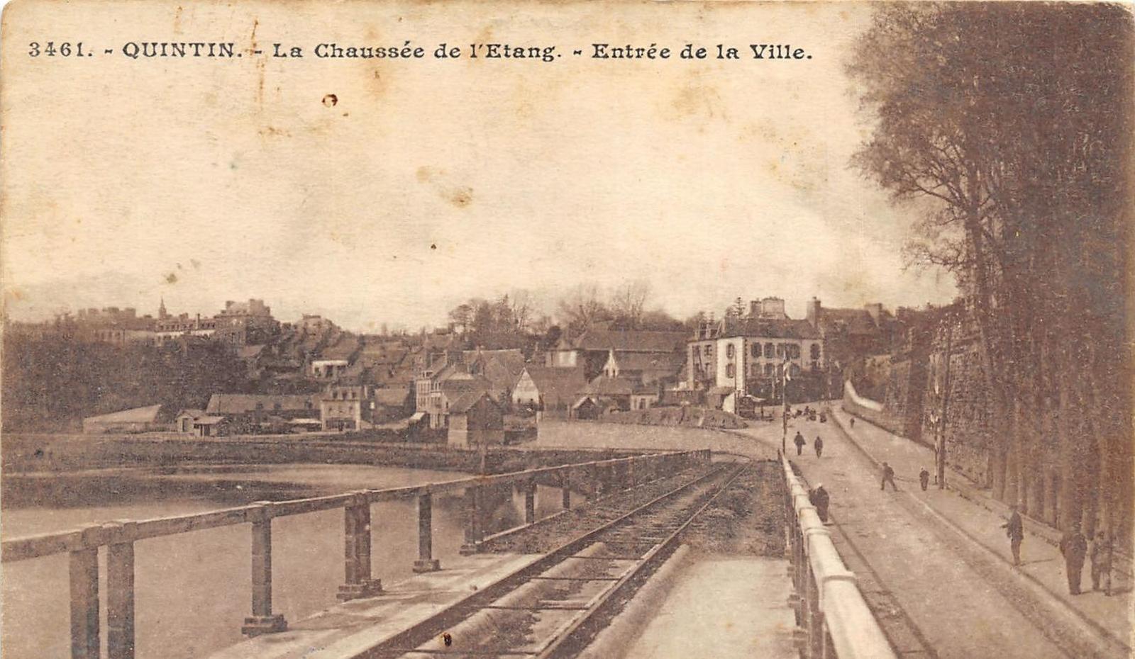 Quintin - Quintin - La Chaussée de l'Etang - Entrée de la Ville