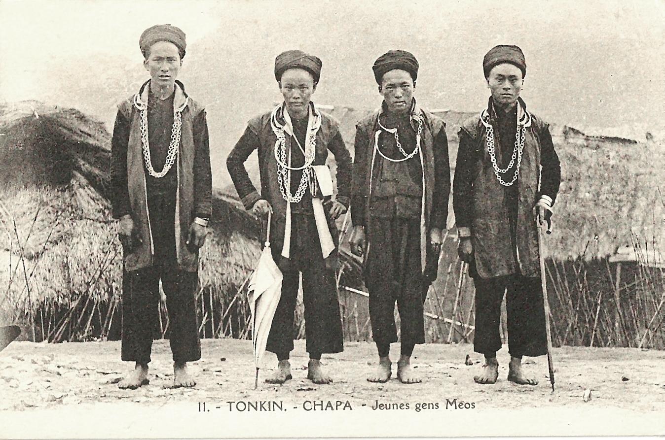-  Tonkin-Chapa-Jeunes gens Méos