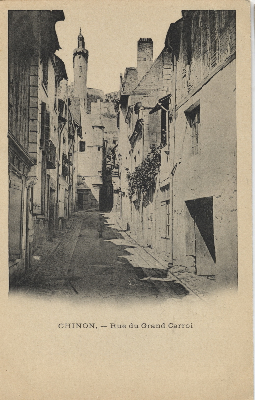 Chinon - Rue du grand Carroi