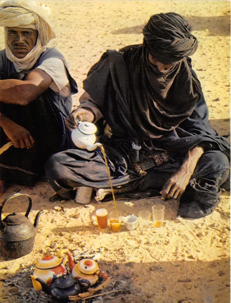 -  Niger - Préparation du Thé