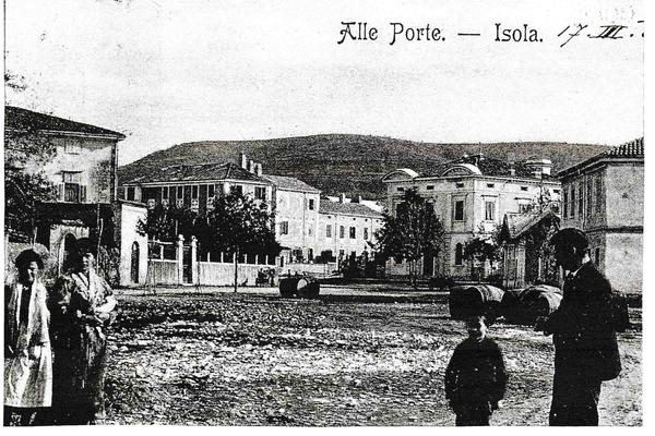 Izola - Cartolina di Isola d'Istria 1909