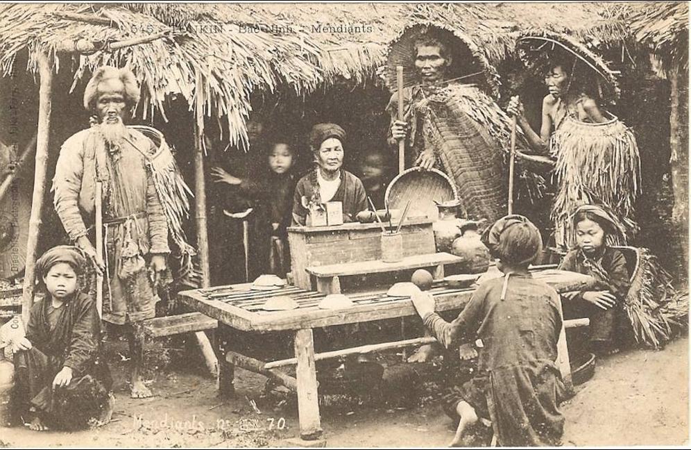 -  Viêt- Nam_  tonkin - Bac-Min _Mendiants