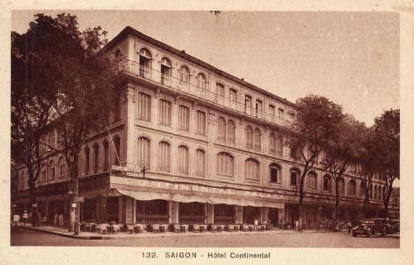 Saïgon - Saïgon-Hôtel Continental