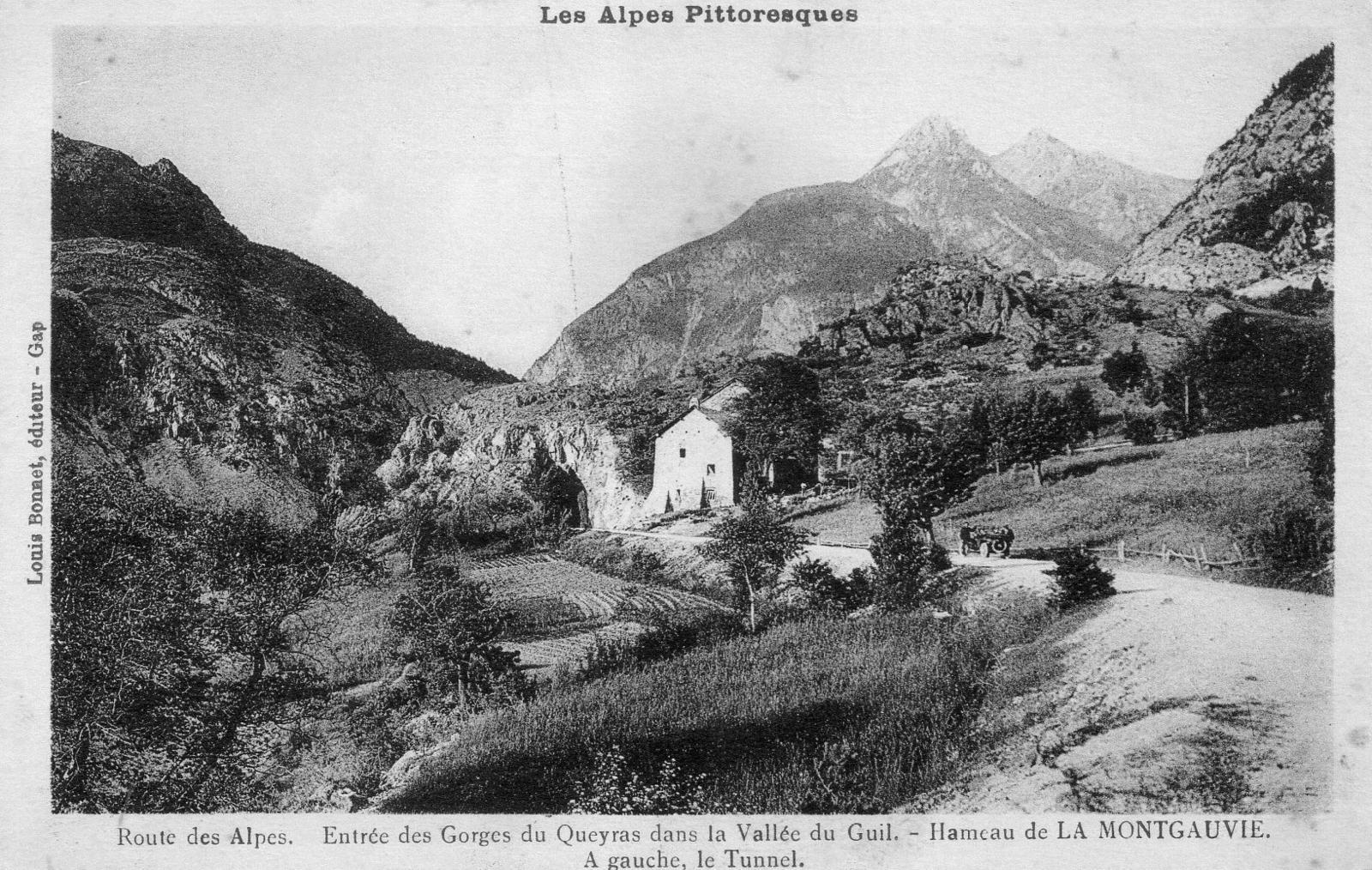 Guillestre - Les Alpes Pittoresques - Carte postale ancienne et vue d'Hier  et Aujourd'hui - Geneanet