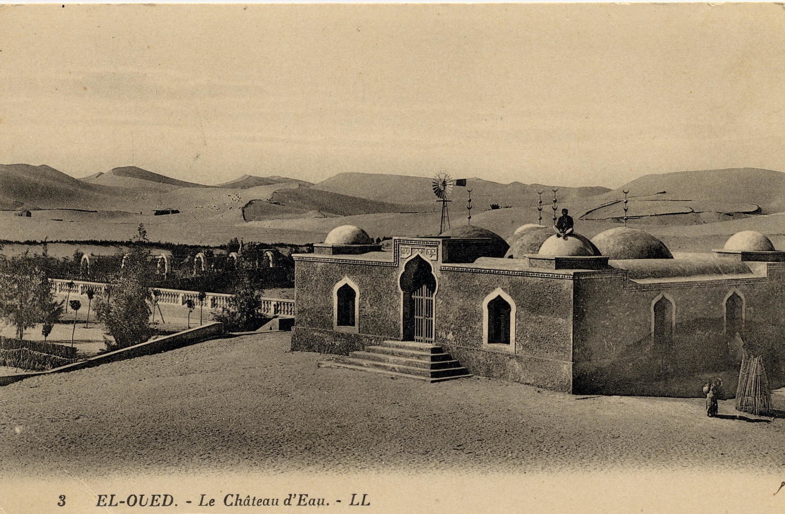 Biskra -  Le château d'eau de El-oued Biskra Algérie.