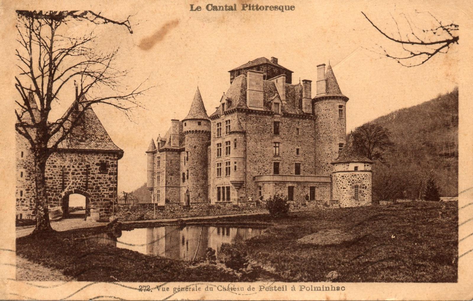 Polminhac - château de Pesteil