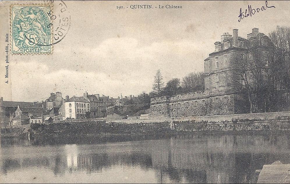 Quintin - QUINTIN Le château édit Mancel N° 191 précursseur