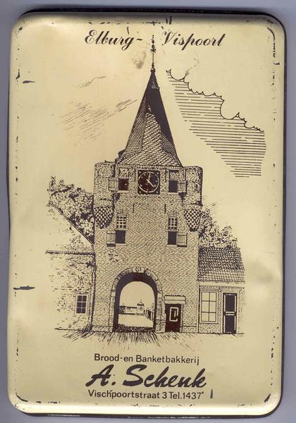 Elburg - Vischpoort, omstreeks 1970