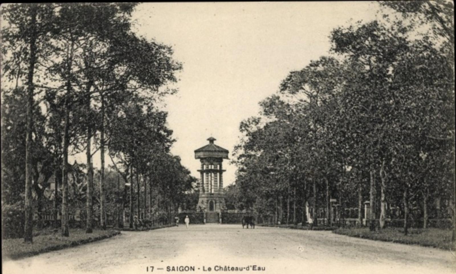Hô Chi Minh-Ville -  Cp Saigon Cochinchine Vietnam, Le Château d'Eau