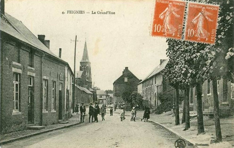 Feignies - 4 - La Grand'Rue