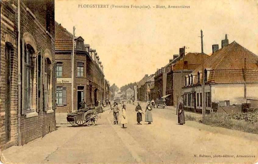 """Ploegsteert - Ploegsteert """" Frontière Française """""""