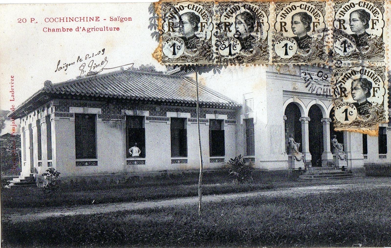Hô-Chi-Minh-Ville -  Hô-Chi-Minh-Ville anciennement Saïgon en Cochinchine Chambre d'Agriculture