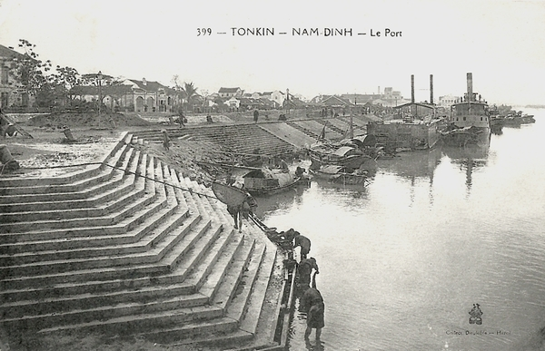 Nam-Dinh - Tonkin-Nam-Dinh-Le Port