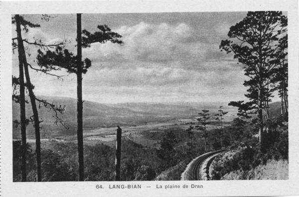 Lang-Bian - Chemin de fer: le LANG BIAN au temps de l'Indochine