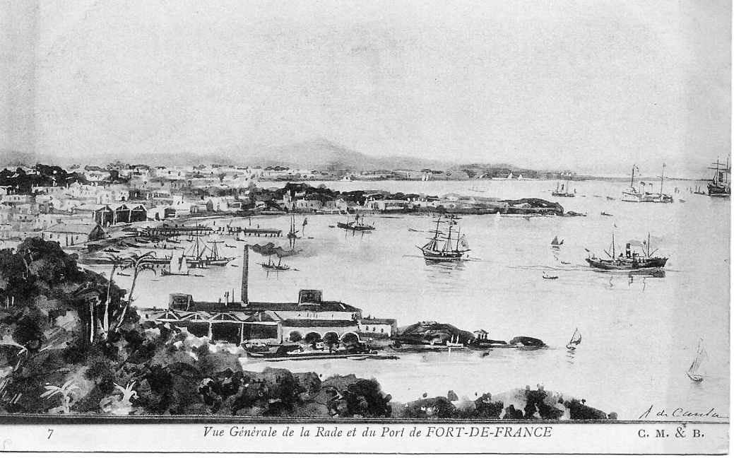 Fort de France -  Vue de Fort de France (Martinique)