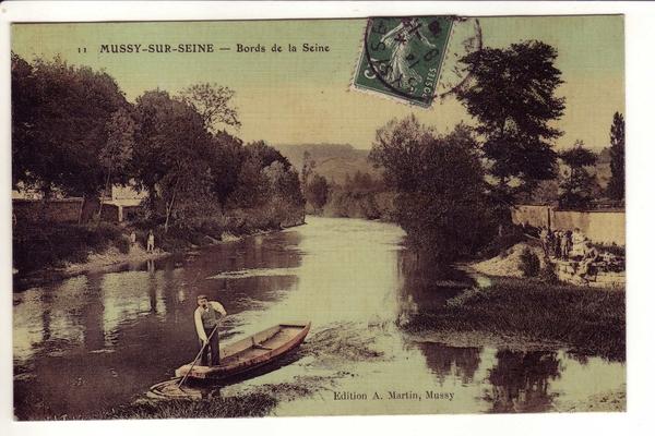 Mussy-sur-Seine - Cartes editées par Alfred Martin