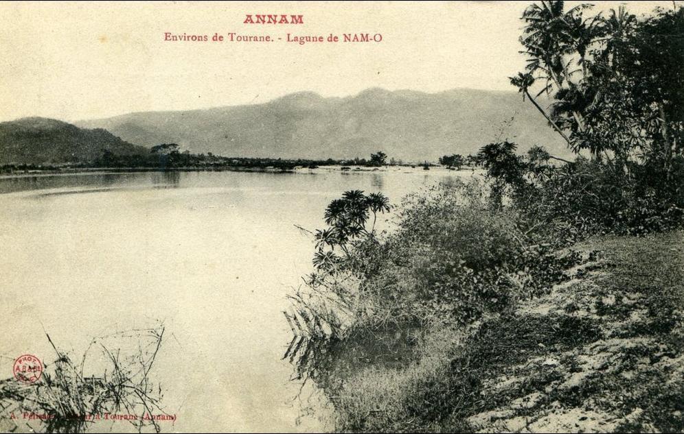 Tourane -  ANNAM...ENVIRONS DE TOURANE...LAGUNE DE NAM-O...