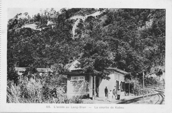 Lang Bian - Chemin de fer: le LANG BIAN au temps de l'Indochine