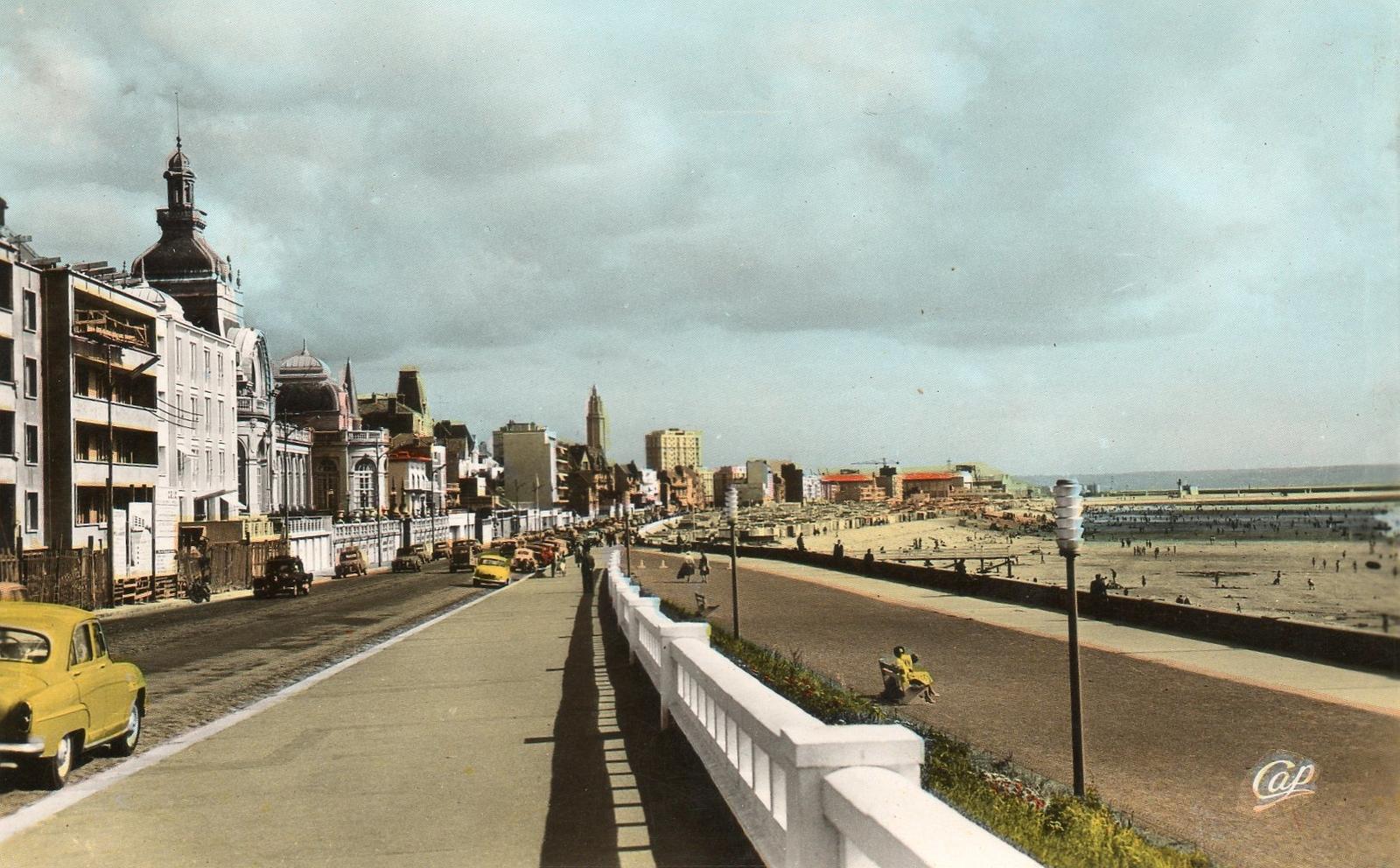 Le Havre - Carte postale ancienne et vue d'Hier et Aujourd'hui - Geneanet