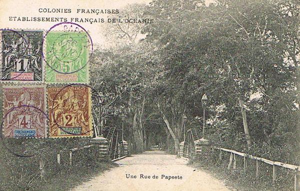 Papeete - Une rue