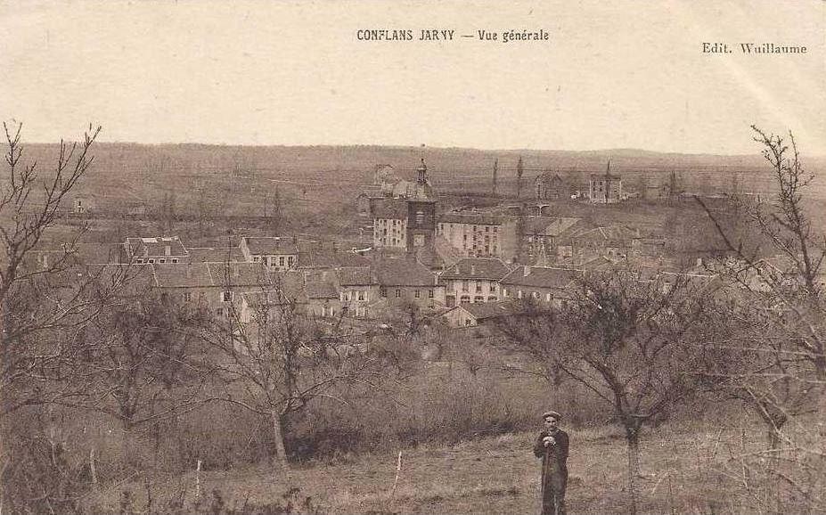 Conflans-en-Jarnisy - CONFLANS-en-JARNISY (54), vue générale de la Ville, vers 1910